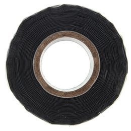 Wholesale Bonding Tapes - New Arrival Black Silicone Performance Repair Tape Bonding Rescue Self Fusing Wire Hose Tape order<$18no track