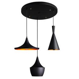 Wholesale Dixon Beat - ABC Tom Dixon Beat Iron LED Incandescent Pendant Lamps droplight celling lamp 85-265V Modern Halogen Pendant Lamps 1M Cord Length ty-006