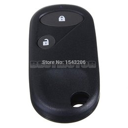 Wholesale Honda Remote Shell - 2 Buttons Black Remote Key Case Shell Cover Fob For Accord for Jazz for Honda for Civic for CRV small order no tracking