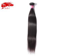 """Wholesale Retail Virgin Hair - Ali Queen Hair Retail Grade 6A 8""""-34"""" Cheap Virgin Malaysian Hair Bundles 1pcs lot Unprocessed Malaysian Straight Hair Weave"""