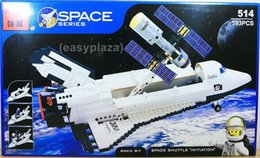 Wholesale Enlighten Space - SPACE SHUTTLE & SATELLITE (593PCS) BUILDING BLOCKS BRICKS SET #514 ENLIGHTEN TOY