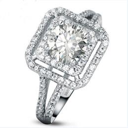 Argentina 3 generaciones IJ color primarias perforación de diamante femenino, anillo de bodas de diamantes, anillo de San Valentín especial Suministro