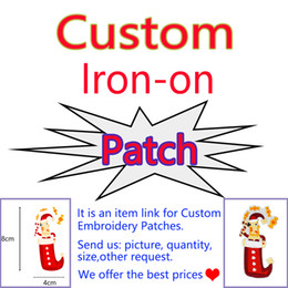 Wholesale Free Embroidery Appliques - Supplier Cheapest Custom Patches High Quality Embroidery Iron on Transfer Applique Patch for Cloth Bags Coat Jeans All Kinds Free Shipping