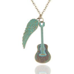Wholesale Elegant Vintage Necklaces - Statement Necklaces Vintage Necklace For Women Elegant Geometric Long Pendant Charming Women Jewelry Metal Turquoise Pendants Necklaces