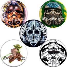 Wholesale Star Wars Tunnel - star wars acrylic black piercing body jewelry earrings ear plugs and tunnels gauges AE-1103 free shipping