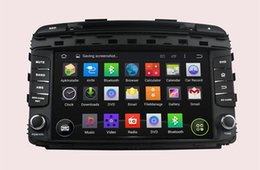Wholesale Dvd Sorento - Android 4.4 Car DVD Player for KIA Sorento 2015 with GPS Navigation Radio BT USB AUX Video Head Unit 4Core 1024*600