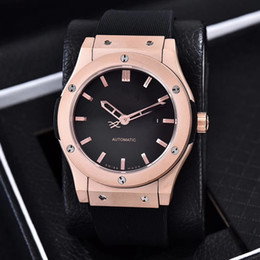 Wholesale Mens Classic Watches - Luxury Brand AAA New Gold Classic Fusion King Power Automatic Movement Mechanical Fashion Sports Mens Watches Wristwatch