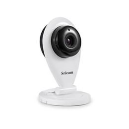 Wholesale Indoor Cctv Cameras - Sricam SP009 Wireless HD 720P IP Camera P2P CCTV Security ONVIF Camera for Mobile Preview Support IOS Android SD Card Storage