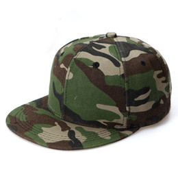 Wholesale Snapback Caps Raiders - Wholesale-camouflage snapback cap gorras planas hiphop baseball hat summer outdoor sports Hat touca raider cap men women adult unisex B441