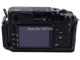 Wholesale Camera Bracket Support - Wholesale-L Style Vertical Shoot Tripod Quick Release Plate Camera Support Holder Bracket for Fujifilm Fuji X-PRO1&Ballhead