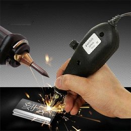 Wholesale Electric Carving Knives - New 220V Electric Tools Electric Engraving Pen Plotter Engraved Pen Engraving Machine Engraving Pen Electric Carving Knife