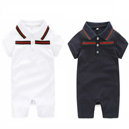 Wholesale Newborn Summer - 0-24 monthsBaby Rompers Newborn Baby Boy Girls Clothes Short Sleeve Baby Clothing Girl Infantil Body Jumpsuit