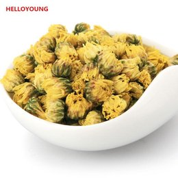 Wholesale Green Chrysanthemums - C-TS026 China Genuine Hangzhou 100g Chrysanthemum Flower Tea Refreshing aromatic, Blooming Tea For Health Care Green Food