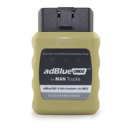 Wholesale Usb Drive Emulator - AdblueOBD2 Emulator For MAN Trucks Plug And Drive Ready Device By OBD2