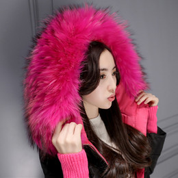 Wholesale Womens Long Goose Down Coats - 5XL down jacket womens Winter Coats Long Down Parkas Real Raccoon Fur Warm Thick Outwear Snow Clothes New Fashion Plus Size