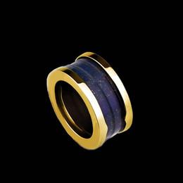 Wholesale Miranda Kerr - 2015 Sale Top Fashion Fine Jewelry Wedding Rings Miranda Kerr With Marble Threaded Titanium Metal Side Ring Jewelry Wholesale