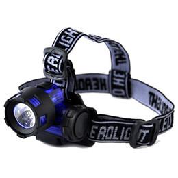 Wholesale Miners Led Headlamp - 3W High-power Professional LED Night Fishing Lights Headlamp Lamp Of Miner