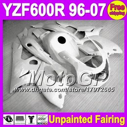 Wholesale yamaha yzf thundercat fairing - 7gifts Unpainted Full Fairing Kit For YAMAHA YZF600R YZF 600R YZF 600 600R 96 97 98 99 00 01 02 03 04 05 06 07 Fairings Bodywork Body