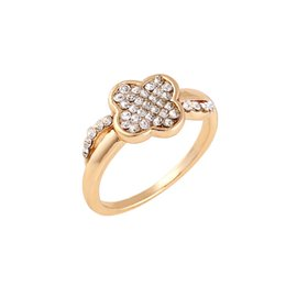 Wholesale Cheap Gold Ring For Women - Latest Design Rose Gold Plated Womens Engagement Rings Exquisite Celtic with Side Stone Cheap Wedding Rings for Women
