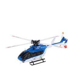 Wholesale Bnf Helicopter - Brand New Original XK EC145 K124 2.4G 6CH 3D 6G System Brushless Motor BNF RC Helicopter without Transmitter