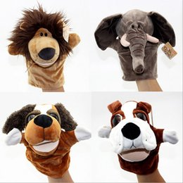 Wholesale Nici Big - Baby lover plush toys Creative variety of cartoon animal hand puppet mouth early childhood parent-child dynamic toy nici