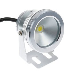 Wholesale Boat Led Lights Underwater White - Outlet Center 10W 12V Led Underwater Fountain Light Cold White IP68 Outdoor Flash Waterproof for Boats Aquariums