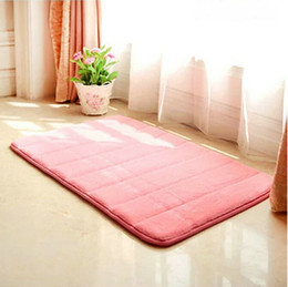 Wholesale Free Matting - Top Selling Suede Area Rugs Floor Hallway Doormats Protect Sitting Room Pad Matting Non-Slip Covers Free Shipping