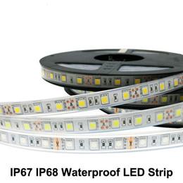 Wholesale Silicon Tube Led Strip Lighting - 5M LED strip 5050 DC12V 60 LED M High Quality Silicon Tube IP67 IP68 Waterproof LED Strip string light