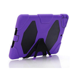 Wholesale Ipad Heavy Duty - For ipad mini 4 SAMSUNG Galaxy tab 3 4 A E P3200 T280 T230 T330 T350 Military Extreme Heavy Duty Shockproof CASE