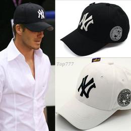 Wholesale Embroidered Flats Women - Wholesale 2016 baseball cap New York Yankees baseball cap embroidered letters snapbacks Hats Adjustable Snapback Caps For Men Women