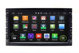 Wholesale Radio General - Android 5.1 2Din General Head Unit Car DVD Player GPS Navigation with Radio BT MP3 Auto Audio Video Stereo WIFI 4Core