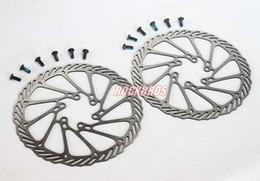 Wholesale Disc Brake Avid Hs1 - AVID Bike Parts Disc Brake Pads MTB Brake Pad BB5 BB7 Disc Brake Rotor HS1 G3 G2 160mm 2pcs & Ti Bolt