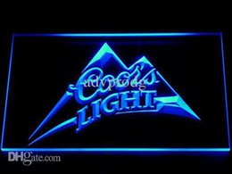 Wholesale Coors Neon Signs - 004 Coors LED Neon Sign Bar Beer Decor Free Shipping Dropshipping Wholesale 7 colors to choose