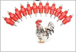 Wholesale Poultry Nipples - wholesale NDR1 x 200pcs Chicken nipple   Duck Poultry Water Nipple Drinkers manufacture