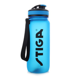 Wholesale Water Bottle Table - STIGA Original Table Tennis Portable Sport Water Bottle TRITAN Plastic Space Cup 650ML