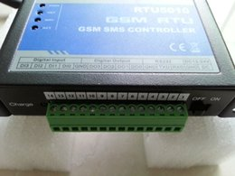 Wholesale Free Sms Gsm - GSM RTU5011 Automation remote relay control switch with SMS by free Phone Call GSM home automation and security system