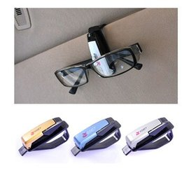 Wholesale Sun Visor Eyeglass Holder - Fashion Smart Car Vehicle Sun Visor Sunglasses Eyeglasses Holder Clip Portable Design