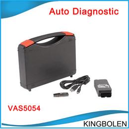 Wholesale Vag Bluetooth - VAS 5054 Diagnostic Interface for VAG VW Audi VAS5054A V19 Bluetooth 5054 English German Spanish French Portuguese Version DHL free shipping