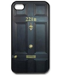 Wholesale Iphone 4s Sherlock - Promotion Sherlock Holmes 221B Hard Plastic Protective Phone Cover For Iphone 4 4S 5 5S 5C 6 6 Plus