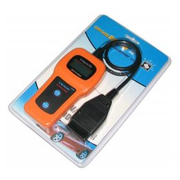 Wholesale Automotive Equipment - Direct selling OBD U280 Scanner automotive diagnostic equipment vehicle detector car reading cards
