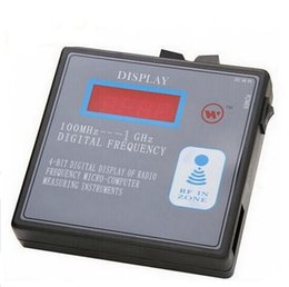 Wholesale Display Renault - Alkcar Display 100mhz-1GHz remote control transmitter frequency counter tester 100mhz-1000mhz digital frequency indicator meter