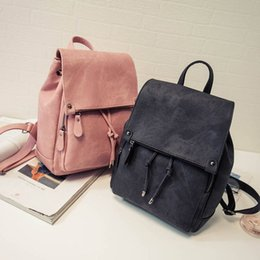 Wholesale Cheap Small Phones - Black ladies backpack leather backpack for school places to get cute backpacks women's school backpacks nice cheap backpacks