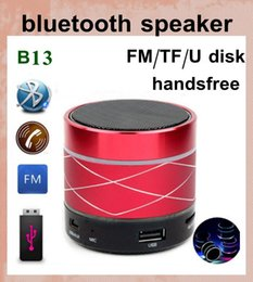 Wholesale Mini Portable Laptop Sound Box - wireless bluetooth speaker mini laptop speaker sound box with led light speaker subwoofer amplifier computer outdoor music portable MIS038