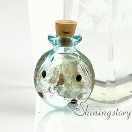 Wholesale Jewelry Vial Charm - small glass vials wholesale urn charms pet cremation keepsake jewelry ashes jewelry keepsakes for ashes locket