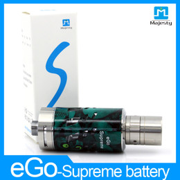 Wholesale E Cigarrete Ego - 3ML Update ego one Stainless steel Atomizer eGo Supreme Atomizier For E cigarrete Battery Facotry price Supply Free shipping