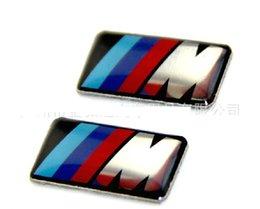 Wholesale Stickers Cases - Car Glue Emblem Sticker case for BMW E46 E39 E36 E60 E34 Stickers Badge series logo Icon Hub Steering wheel drive accessories
