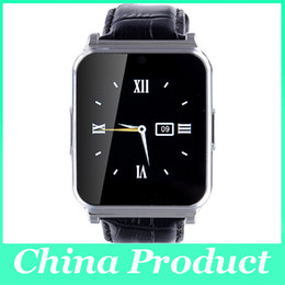 Wholesale English Leather Wholesale - W90 NFC Smart Watch 2.0MP Camera Anti-lost Full View Leather Band Support TF Card Pedometer Sleep Monitor for Android IOS Phone 010223