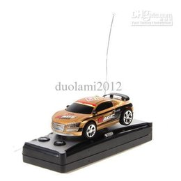Wholesale Radio Controlled Goods - Wholesale-Free shipping!Wholesale - Good! Creative Cola Car Mini RC Radio Remote Control All Star Top Racing Second Generation - Yellow