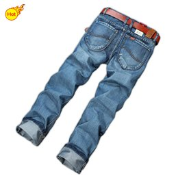 Wholesale Plus Size Clothing For Men - Wholesale-Hot Sales! New Arrive Summer Style International Brand Denim Printed Jeans Mens Jeans For Men Clothing Casual Sport 28-40