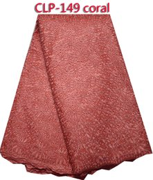 Wholesale Swiss Voile Lace Styles - Fashion style African cotton lace fabric,Lowest price Swiss voile lace for party dress! CLP-149